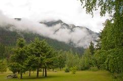 Montering Robson Provincial Park Royaltyfria Foton