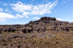 Montering Roraima Arkivbild