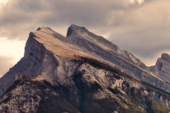 Montering Rundle, Banff nationalpark Arkivfoton