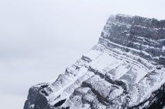 Montering Rundle nära Banff Arkivbilder