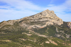 Montering Sainte Victoire Arkivbild