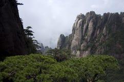 Montering Sanqing, Sanqingshan, Jiangxi Kina Royaltyfria Bilder
