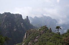 Montering Sanqing, Sanqingshan, Jiangxi Kina Royaltyfri Foto