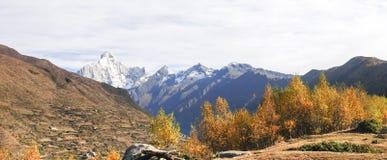Montering Siguniang i Sichuan, Kina Arkivfoto