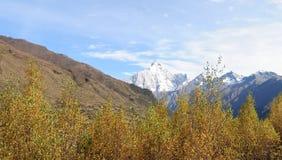 Montering Siguniang i Sichuan, Kina Royaltyfri Foto