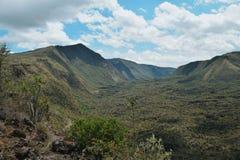 Montering Suswa, Kenya Royaltyfri Bild