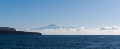 Montering Teide, Tenerife Arkivfoto