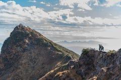 Montering Tnigawa Royaltyfri Fotografi