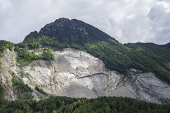 Montering Toc Veneto, Italien Arkivfoto