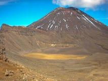 Montering Tongariro Nya Zeeland Arkivbild