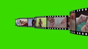 Montering van Levensstijllengte stock video