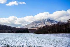 Montering Yotei Hokkaido Japan, landskap Arkivfoton