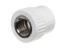 Monteringar för Polypropylene (PVC) på vit bakgrund Royaltyfri Bild