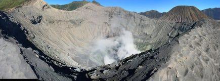 MonteringsBromo krater, East Java, Indonesien Arkivbild