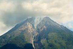 MonteringsEbulobo vulcano Arkivfoto