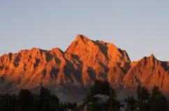 MonteringsHumphreys solnedgång Arkivbilder