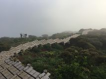 monteringskarakuni kagoshima Japan 1700m Royaltyfria Bilder
