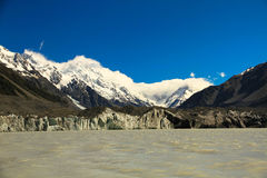 Monteringskock Glacier Royaltyfria Bilder