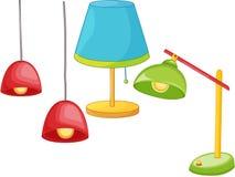 monteringslampa stock illustrationer