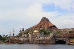 MonteringsPrometheus på Tokyo DisneySea Arkivfoton