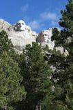MonteringsRushmore nationell minnesmärke, South Dakota royaltyfria foton