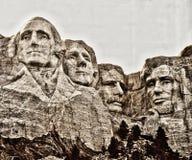 MonteringsRushmore nationell minnesm?rke, South Dakota royaltyfri bild
