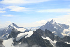 MonteringsTitlis panorama Arkivbilder