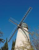 Monteriore Windmill in Jerusalem Stock Photo