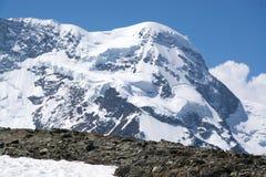 Monterosa at the Matterhorn, Valais, Switzerland Royalty Free Stock Photos