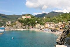 Monterosso在意大利 库存照片