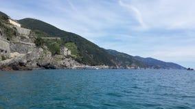 Monterosso意大利 免版税图库摄影