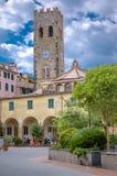 Monterosso -五乡地意大利 库存图片
