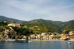 Monterosso al Mare Stock Photo