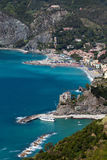 Monterosso al Mare, Liguria, northern Italy Stock Photography