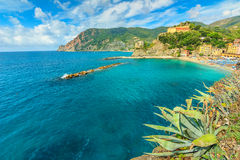 Monterosso Al Mare village on the Cinque Terre coast of Italy,Europe Royalty Free Stock Photography