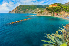 Monterosso Al Mare village on the Cinque Terre coast of Italy,Europe Stock Image