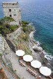 Monterosso Al Stute mit seinem Bunker Lizenzfreies Stockfoto