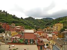 Monterosso alsto 12 Arkivfoton