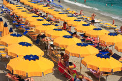 Monterosso beach Stock Photo