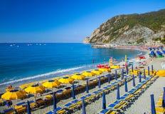 Monterosso Beach Stock Image