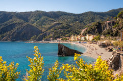 Monterosso Beach Royalty Free Stock Photos
