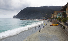 Monterosso Beach, Right Royalty Free Stock Image