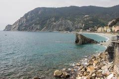 Monterosso Beach stock photo
