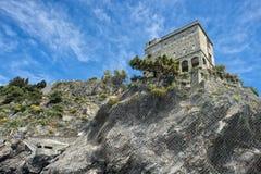 Monterosso cinque terre castle Royalty Free Stock Image