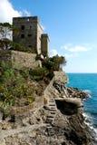 Monterosso (Cinqueterre, Italië), Oud vestingwerk Royalty-vrije Stock Foto's