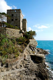 Monterosso (Cinqueterre, Italy), Old fortification Royalty Free Stock Photos