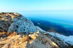 "Scala dei Turchi, Agrigento, Italy. White cliff called ""Scala dei Turchi"" in Sicily, near Agrigento, Italy Stock Photography"