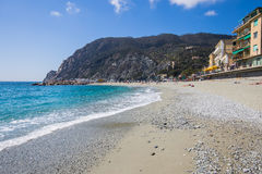 Monterosso coast in Cinque terre, Italy Stock Photo