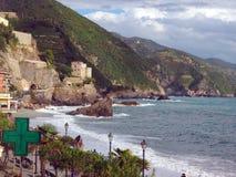 Monterosso editorial Itália Cinque Terre Imagem de Stock