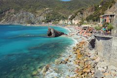 Monterosso italy Royalty Free Stock Photography